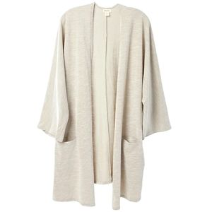 Donni ribbed cardigan with pockets